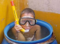 Familiesammenføring - Tag ungerne med på dykkerferie