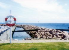 Spodsbjerg havnemole - Langelang
