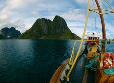 Liveaboard i Norge – dybe vragdyk på Lofoten