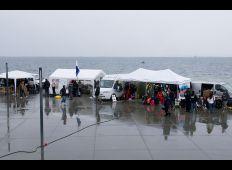 Dykningens Dag 2009 – grill i regnvejr