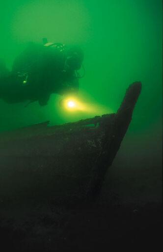 Velkommen til søland - Dykning i Silkeborgsøerne