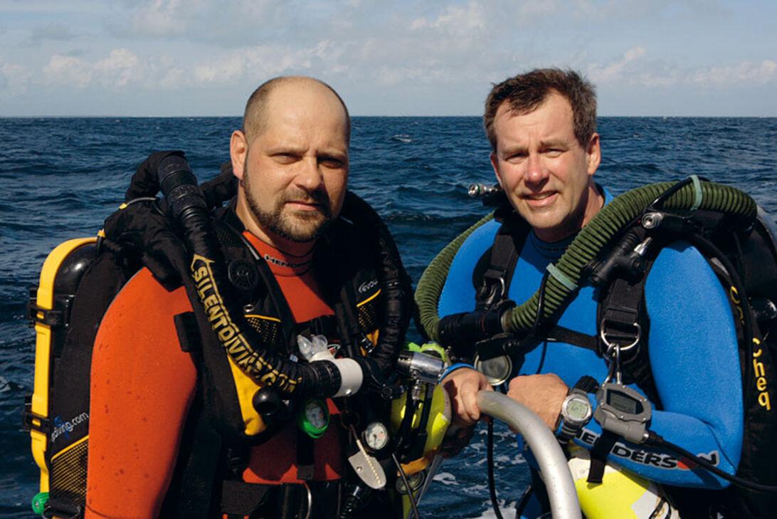 John Chatterton & Richie Kohler – Deep sea detectives