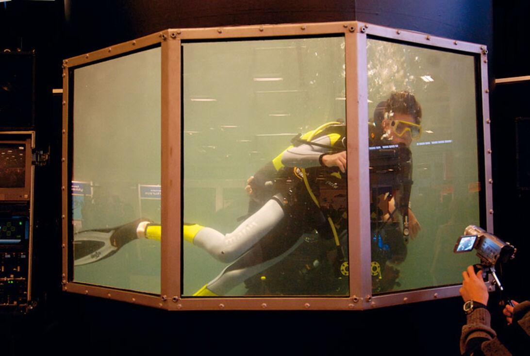 Copenhagen Diveshow 2007 – vinterbadning i Bella