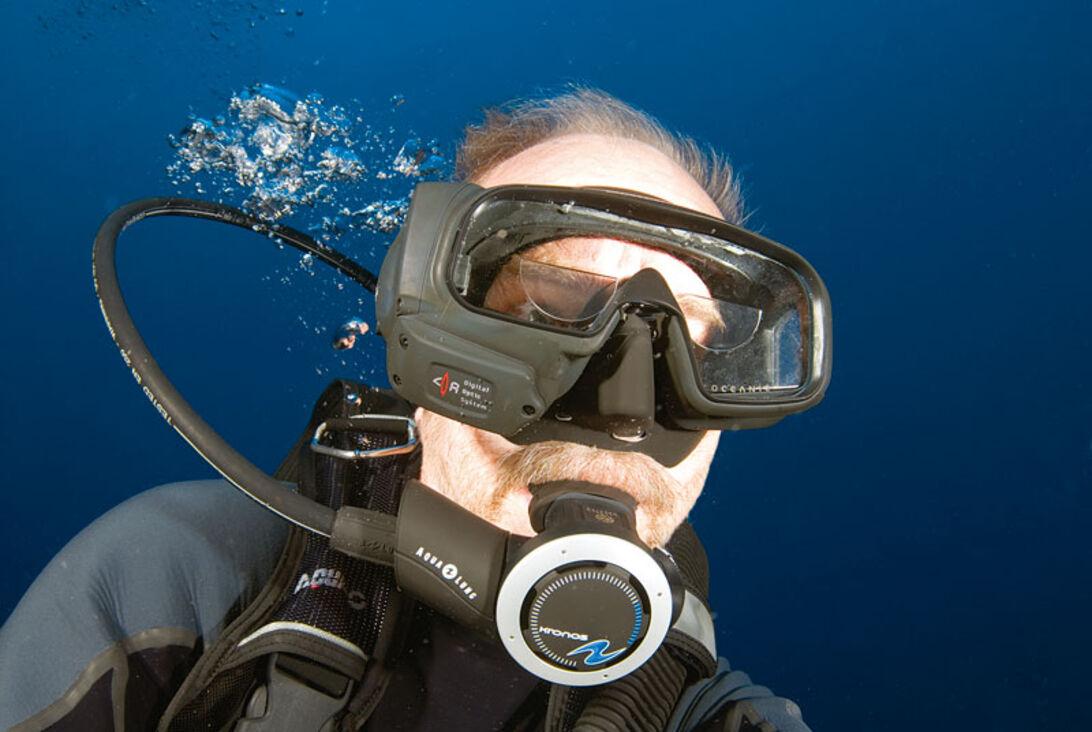 Oceanic Data Mask – top Gun i masken