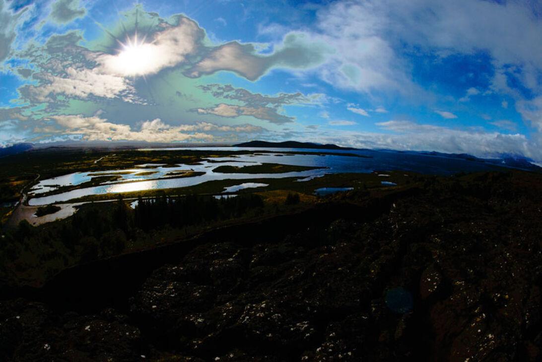 Island – Dykning mellem to kontinenter