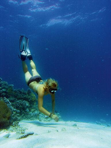 Thailand med snorkel – fridykning for hele familien