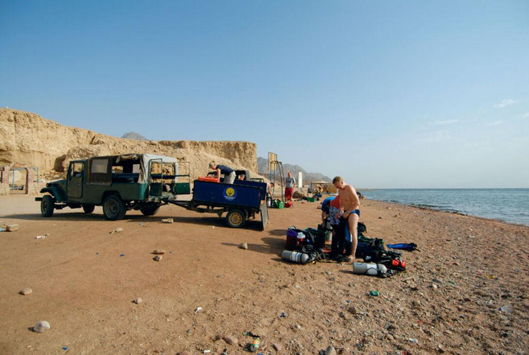 Dahab à la tech – at rejse med rebreather