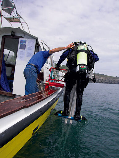 Dykket er ikke slut – før du er tilbage på båden