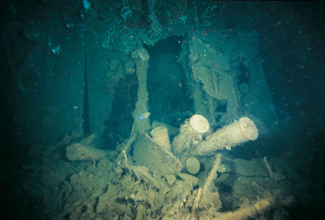 HMS Repulse – vragdykning i Malaysia