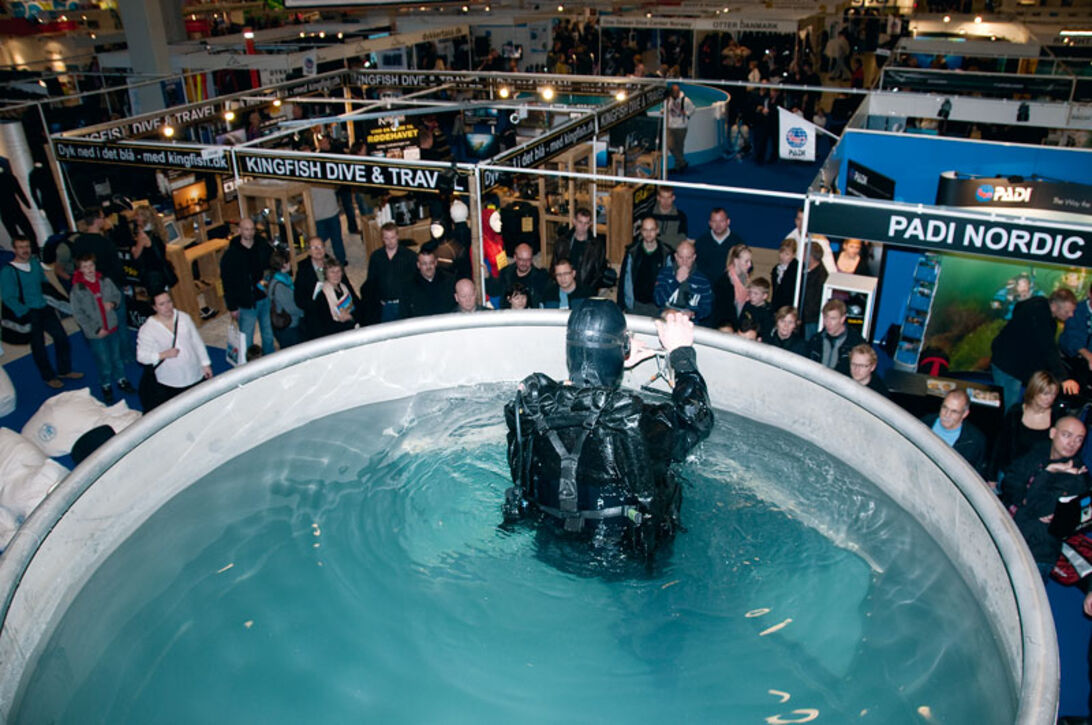 Copenhagen Diveshow 2009 – Krise? Hvaffor en krise?