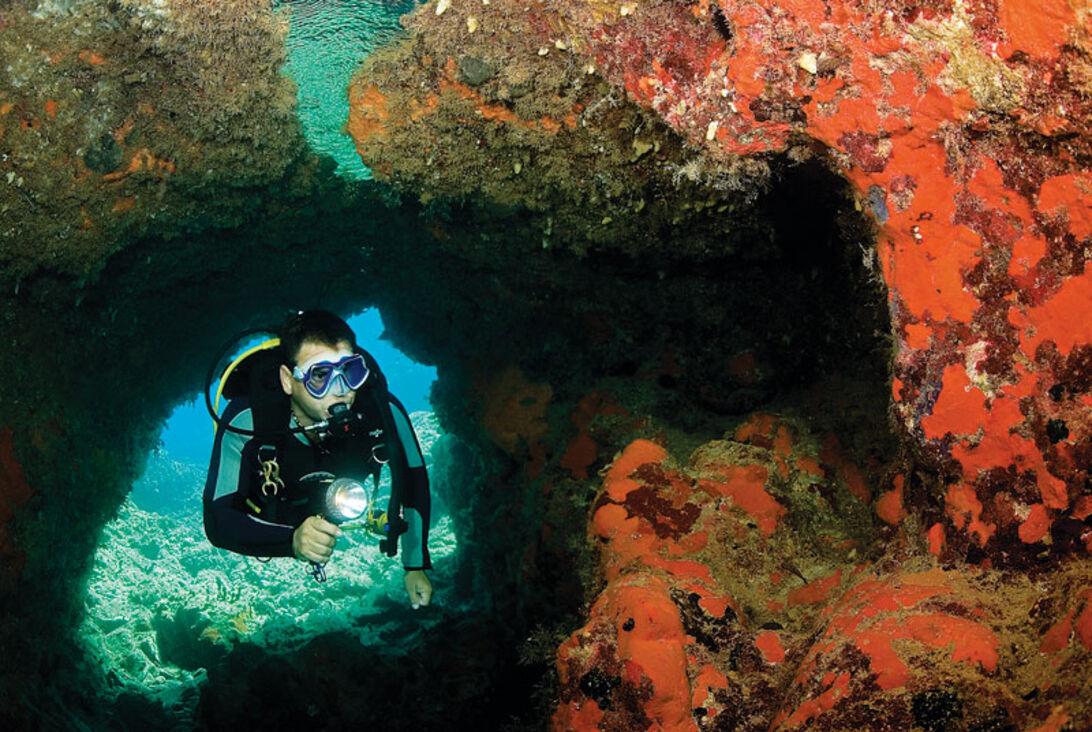 Cypern rundt på syv dage – dykketurné i højt tempo