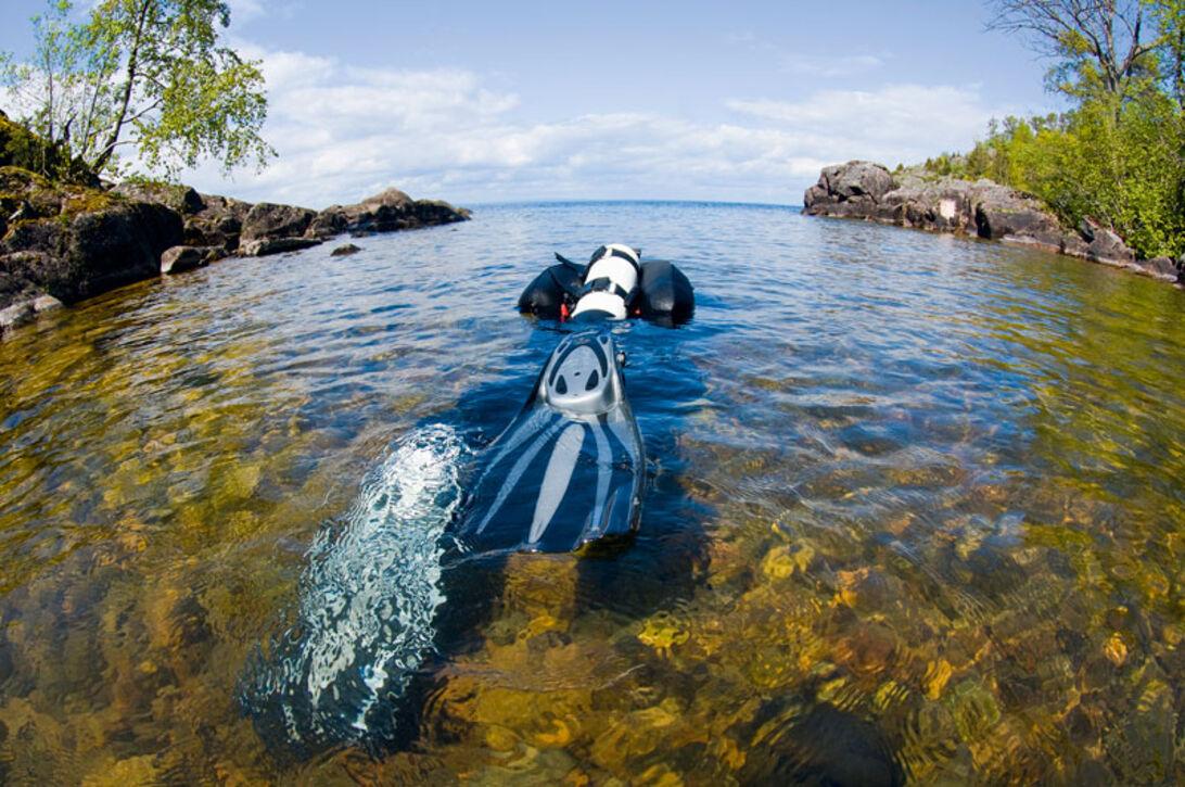 Fem skønne søer – ferske dyk i Sverige