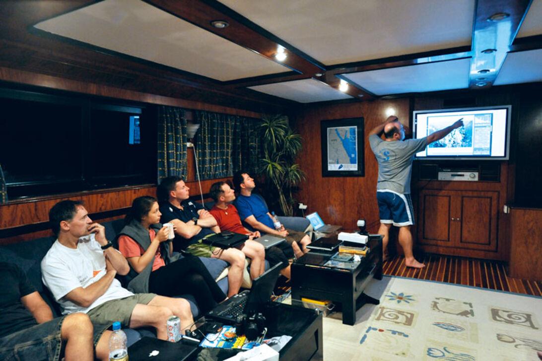 Fotonørder på førsteklasse - 26 undervandsfotografer på samme båd