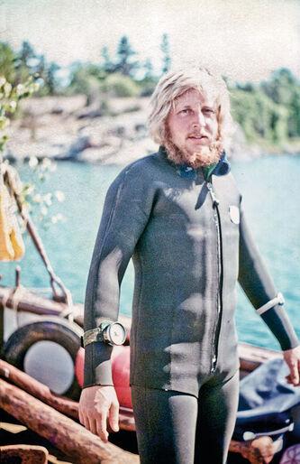 Jan Sangrud – dykkerbåde, nysgerrighed og en masse vrag