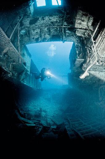 Teknisk dykning er først og fremmest et værktøj til udforskning og eventyr. Det
