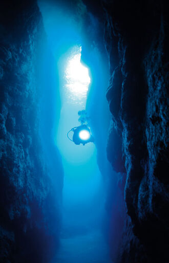 Ronnie Svensson – under vands og i luften
