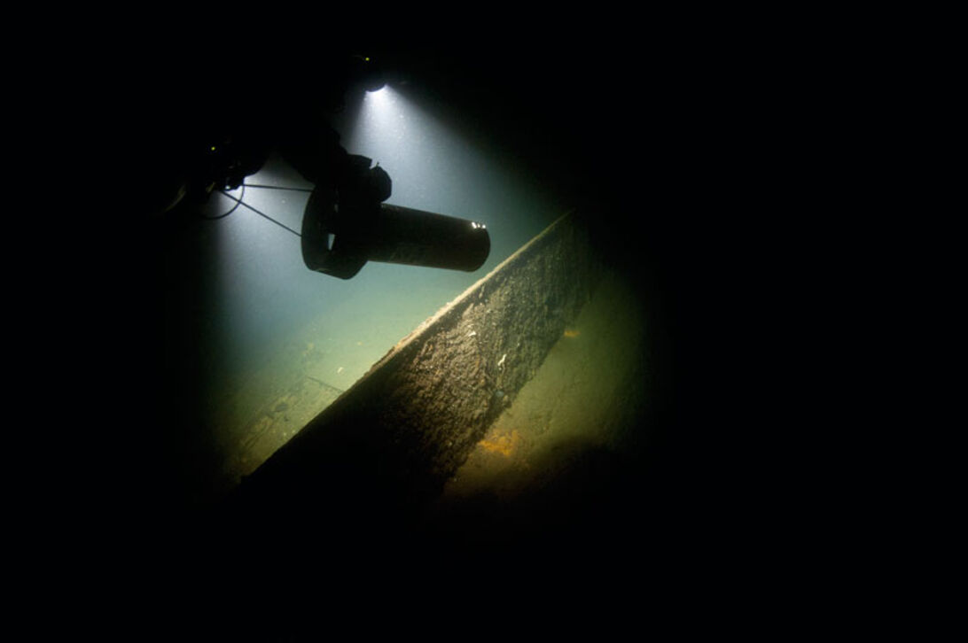 Blücher – På dybt vand i Oslofjorden