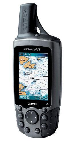 Find vej – håndholdte GPS-modtagere med kortplotter