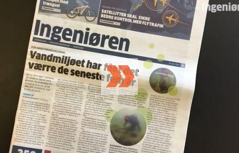 Det danske vandmiljø lider. Se mere om hvorfor.