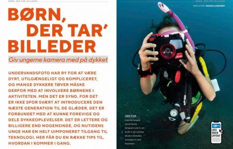 Børn, der tar' billeder – Giv ungerne kamera med på dykket