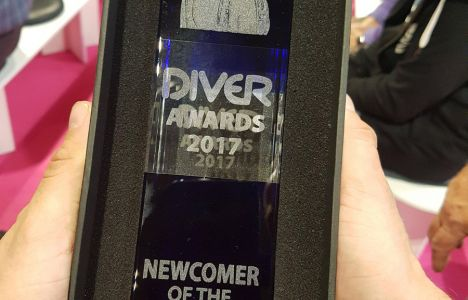 DIVE 2017 Newcomer Of the Year Award