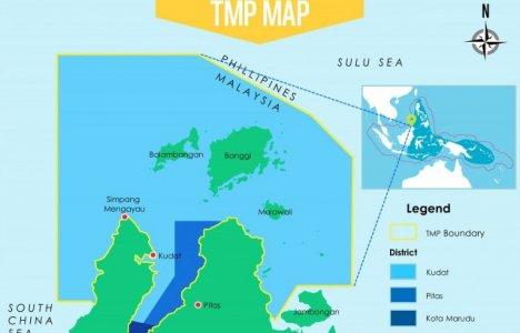 1 mio hektar og mere end 50 øer i det nye Tun Mustapha beskyttede område.