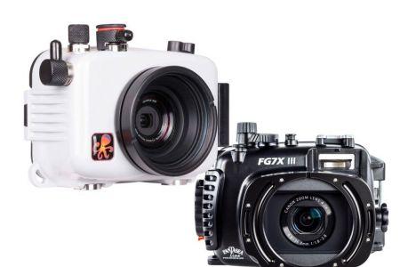 Ikelite UV-hus til Olympus TG-6 & TG-5 / Fantasea Canon G7X III
