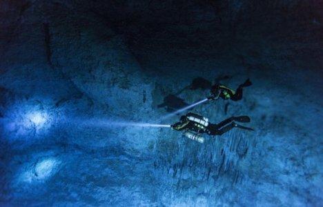 12.000 år gammelt menneske fundet i hule i Mexico