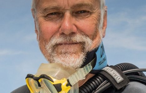John Bantin på Divers Event 2014