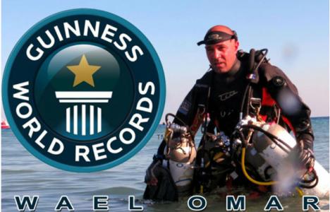 Wael Omar vil dykke til 400m på åbent system