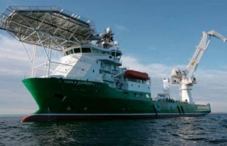 Skibet Havila Harmony, der foretog sonarscanningen