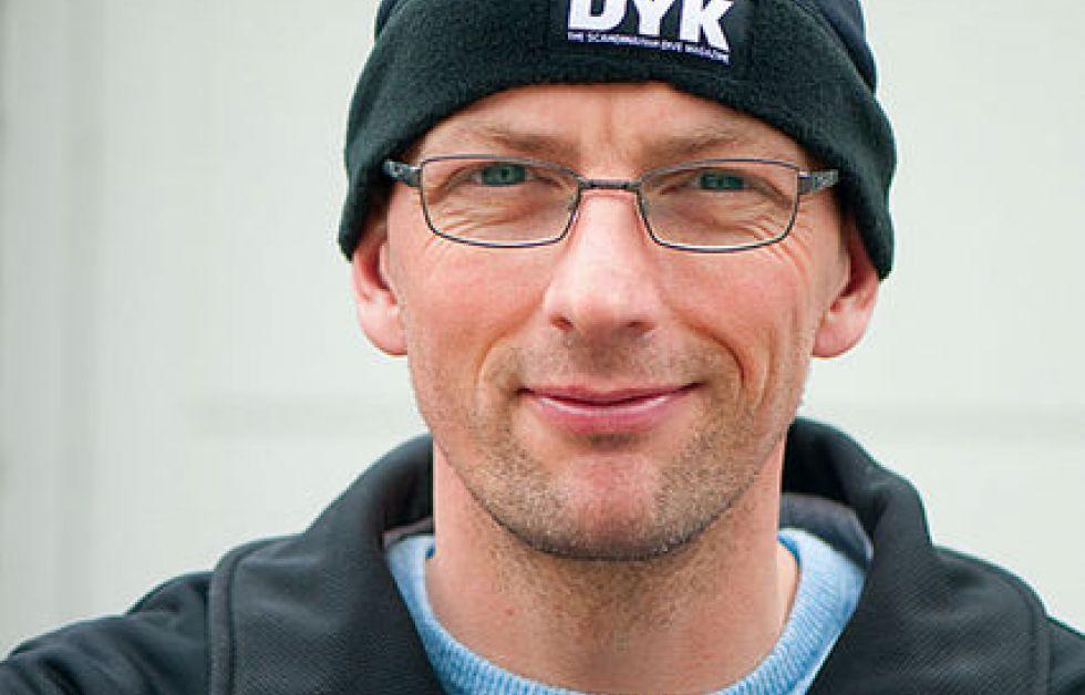 Phil Short på Copenhagen Diveshow