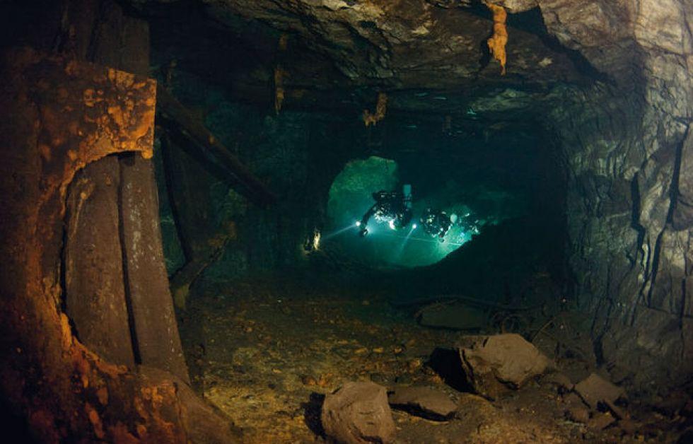 Svensk mine udforskes