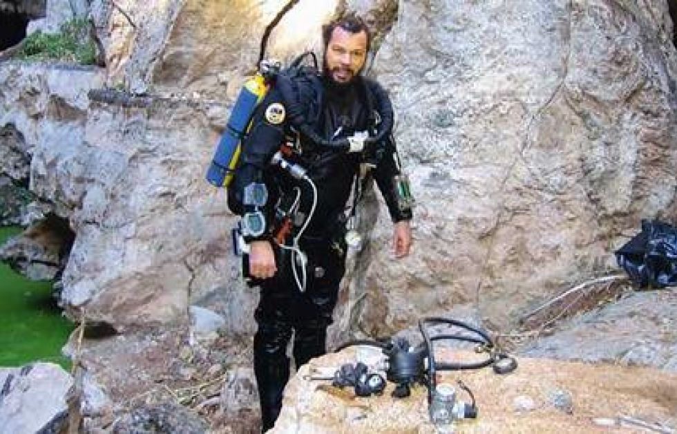 Foredrag om Bushman's Hole hos Master Dive