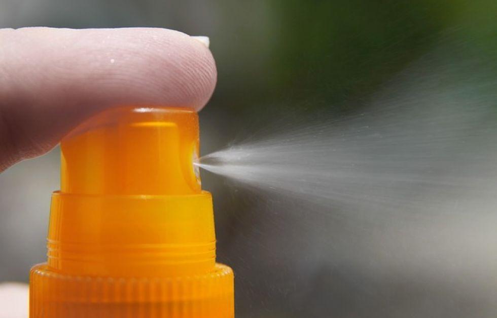 Solcreme på spray