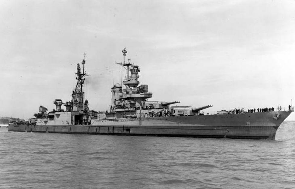 USS Indianapolis i dets storhedstid