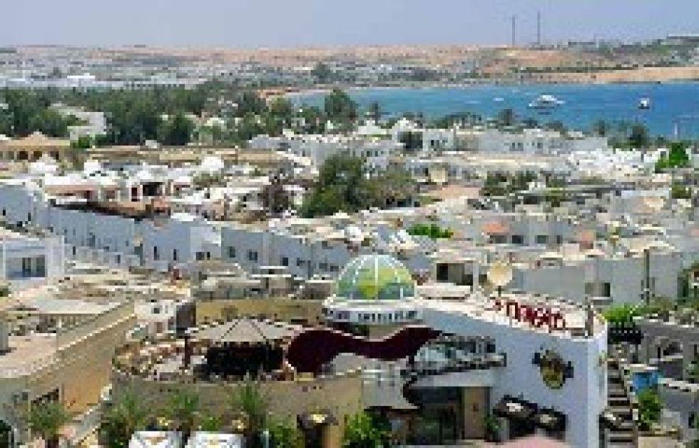 Sikkerhedshegn rundt om Sharm el Sheikh