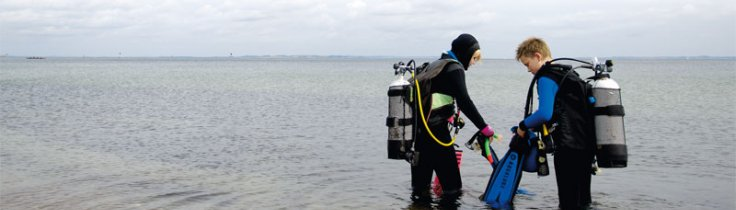 Genfunden begejstring - dykning med børn