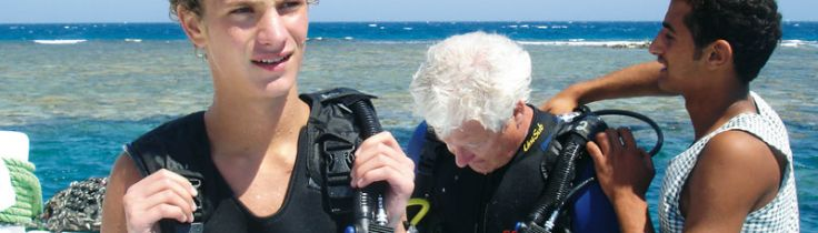 Praktikplads – i Rødehavet
