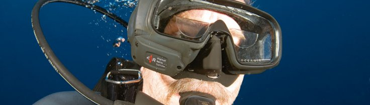 Oceanic Data Mask – top Gun i masken