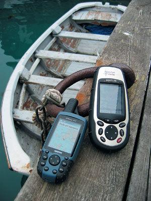 Find vej – håndholdte GPS-modtagere med kortplotter | DYK