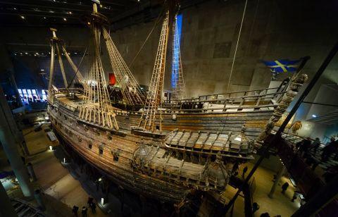 Regalskibet Vasa. Foto: Wikipedia