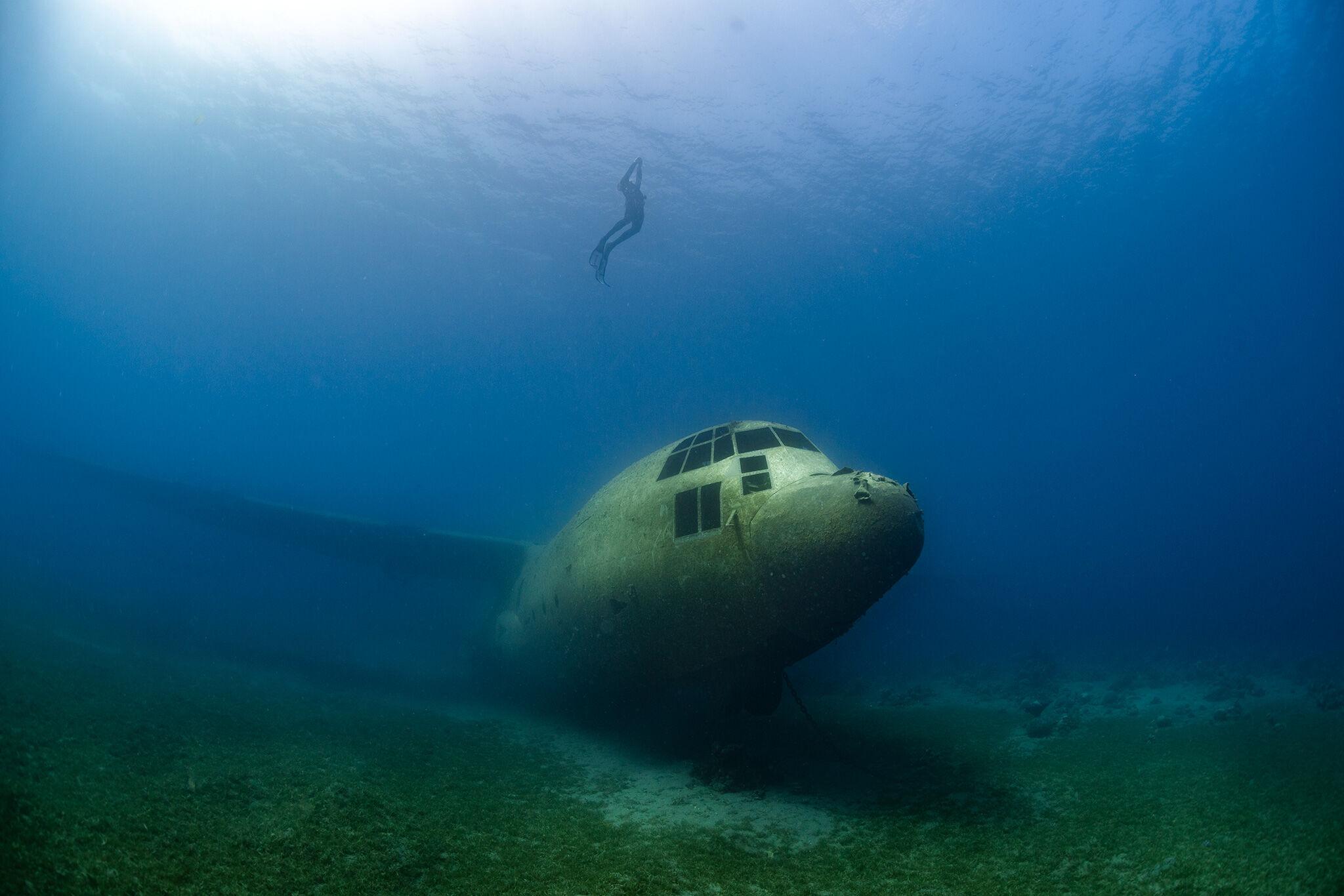 Hercules C-130 Akaba, Jordan.